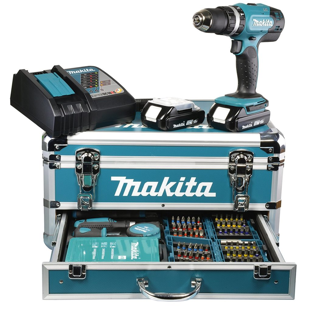 makita test perceuse visseuse set kit perceuse visseuse sans fil