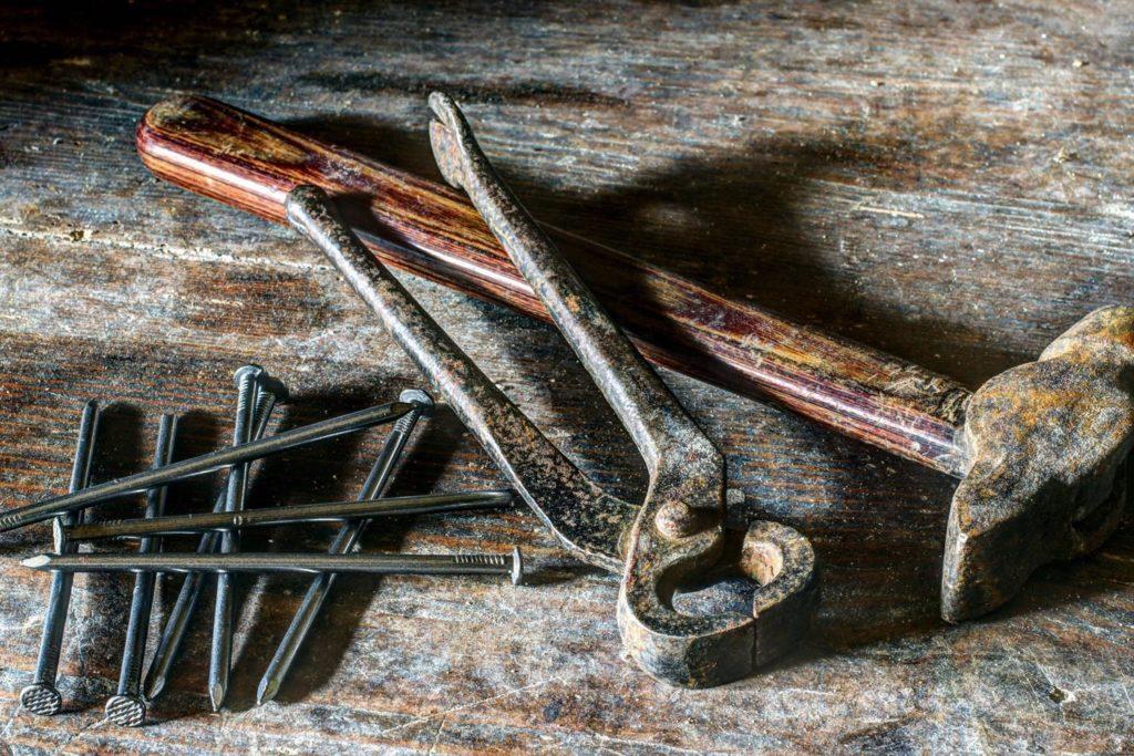 eviter la rouille sur les outils